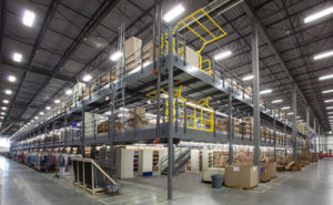 mezzanine-in-warehouse-facility