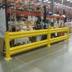 guard rail for warehouse