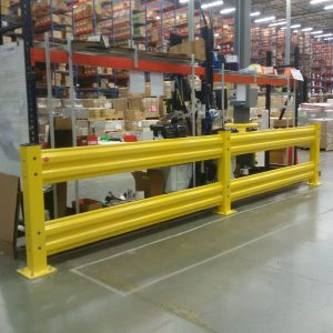 guard rail for warehouse
