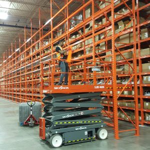 We install pallet racking