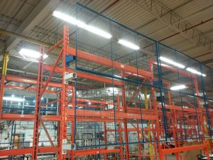 wire mesh panels for rack safety