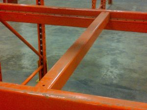 clip in safety bar for pallet racking
