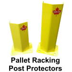 Pallet rack post guards
