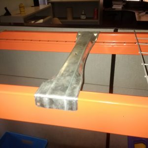 safety bar for pallet racking
