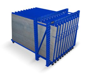 Roll Out Vertical Sheet Rack Storage