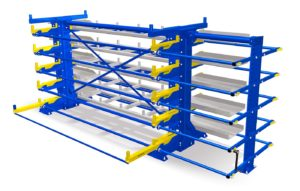 Cantilever Racking - Roll Out Rack Cantilever