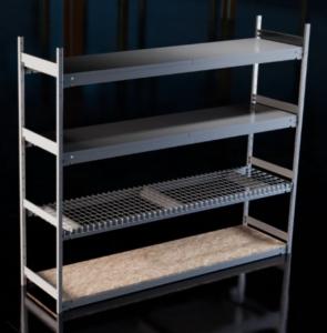 metalware widespan shelving