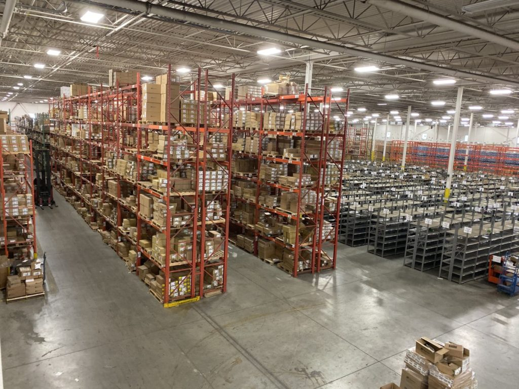Clearance between Pallet Racks and a Building Structure