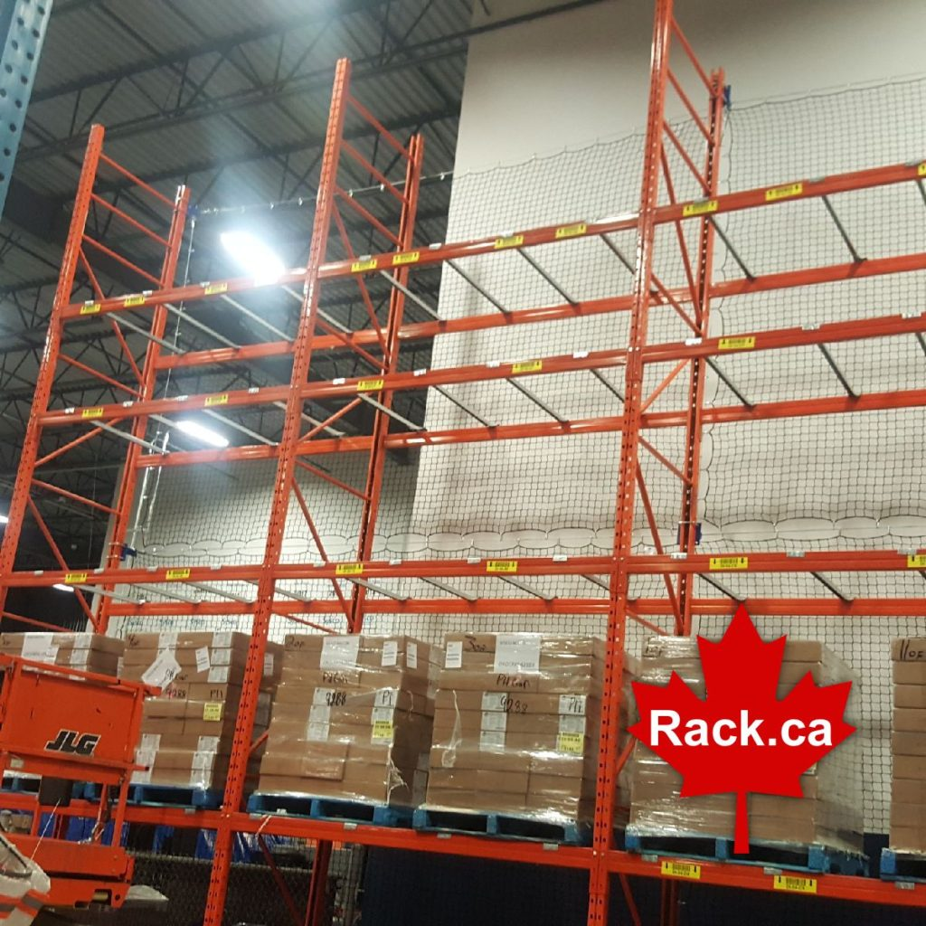 rack guard netting systems