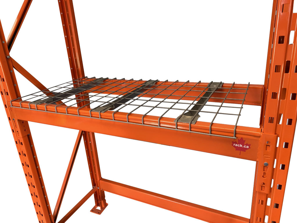 wire mesh decking in pallet racking for sale in Canada