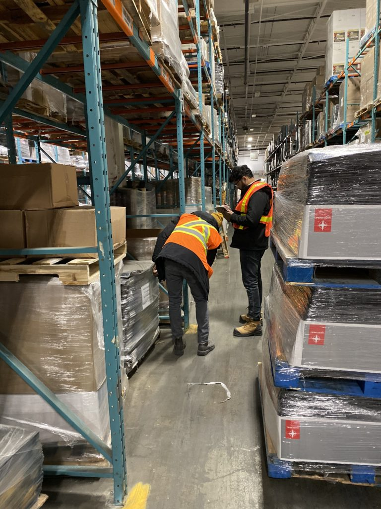warehouse racking inspection in Toronto